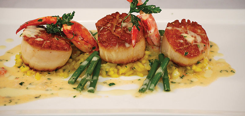 Pan-Seared Day-Boat Diver Scallops